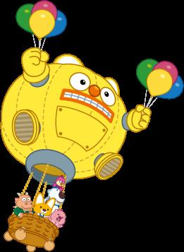 Balloon And Friends | Pororo AquaPark Bangkok