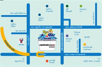 Map | Pororo AquaPark Bangkok