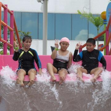 บรรยากาศช่วงทดสอบระบบสุดสนุกของเหล่าครอบครัว CPN | Pororo AquaPark Bangkok