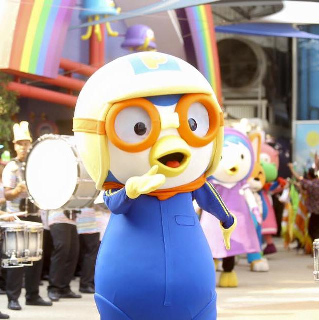 ภาพบรรยากาศแห่งความสุขสุดสนุกกับการ เปิดตัวอย่างยิ่งใหญ่ PORORO AQUAPARK BANGKOK | Pororo AquaPark Bangkok