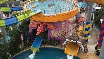 Tong Tong's Splash Pool | Pororo AquaPark Bangkok