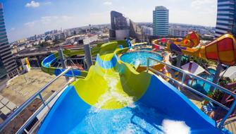 ทอง ทอง เมจิก สไลด์ Tong Tong's Magic Slide | Pororo AquaPark Bangkok