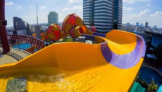 โพโรโระ ฟันเนล Pororo's Funnel | Pororo AquaPark Bangkok